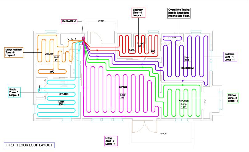 DIY Radiant Floor Heating System | Wildcat Man